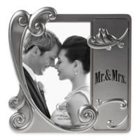 "Precious Moments® ""Mr. & Mrs."" 4-Inch x 6-Inch Picture Frame"