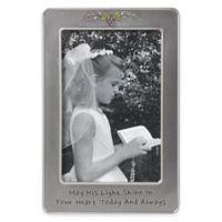 Precious Moments® Communion 4-Inch x 6-Inch Picture Frame