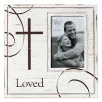Precious Moments® Loved 4-Inch x 6-Inch Picture Frame