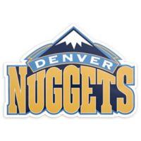 NBA Denver Nuggets Logo Small Outdoor Decal