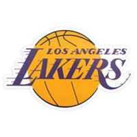 NBA Los Angeles Lakers Logo Large Outdoor Decal