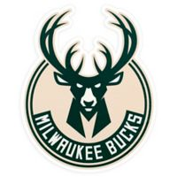 NBA Milwaukee Bucks Logo Small Outdoor Decal
