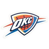 NBA Oklahoma City Thunder Logo Small Outdoor Decal