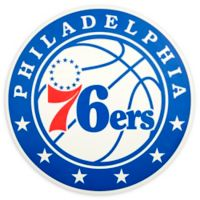 NBA Philadelphia 76ers Logo Small Outdoor Decal