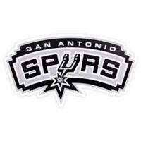 NBA San Antonio Spurs Logo Small Outdoor Decal