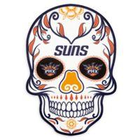 NBA Phoenix Suns Small Skull Outdoor Decal