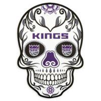 NBA Sacramento Kings Small Skull Outdoor Decal