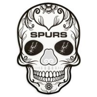 NBA San Antonio Spurs Small Skull Outdoor Decal