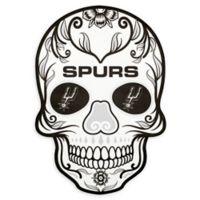 NBA San Antonio Spurs Large Skull Outdoor Decal