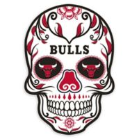 NBA Chicago Bulls Large Skull Outdoor Decal