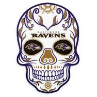 NFL Baltimore Ravens Large Skull Outdoor Decal