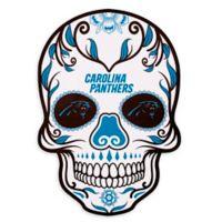 NFL Carolina Panthers Large Skull Outdoor Decal