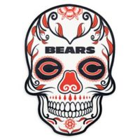 NFL Chicago Bears Large Skull Outdoor Decal