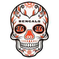 NFL Cincinnati Bengals Large Skull Outdoor Decal