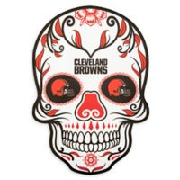 NFL Cleveland Browns Large Skull Outdoor Decal