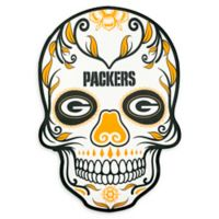 NFL Green Bay Packers Large Skull Outdoor Decal