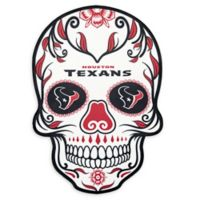 NFL Houston Texans Large Skull Outdoor Decal