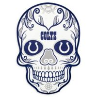 NFL Indianapolis Colts Large Skull Outdoor Decal