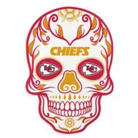 NFL Kansas City Chiefs Large Skull Outdoor Decal