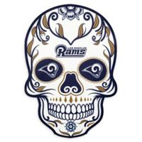 NFL Los Angeles Rams Large Skull Outdoor Decal