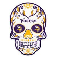 NFL Minnesota Vikings Large Skull Outdoor Decal