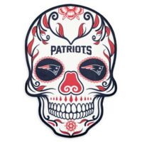 NFL New England Patriots Large Skull Outdoor Decal