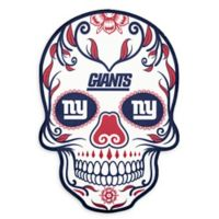 NFL New York Giants Large Skull Outdoor Decal
