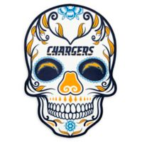 NFL Los Angeles Chargers Large Skull Outdoor Decal
