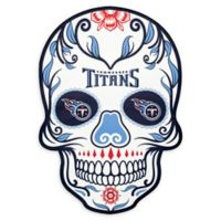 NFL Tennessee Titans Large Skull Outdoor Decal