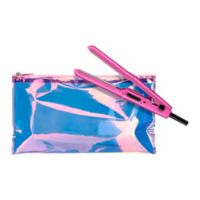 Conair® True Glow™ Glam 0.5-Inch Ceramic Flat Iron with Pouch