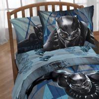 Marvel® Black Panther Tribe Sheet Set in Blue
