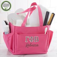 Gamma Phi Beta Embroidered Shower Caddy