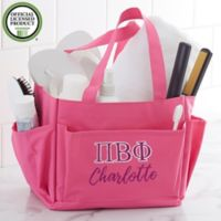 Pi Beta Phi Embroidered Shower Caddy