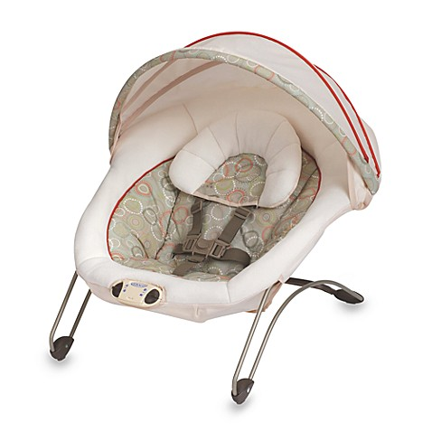 Graco 174 Simple Snuggles Bouncer In Forecaster Bed Bath