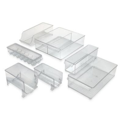 Interdesign 174 Fridge Binz Plastic Refrigerator Bins Bed