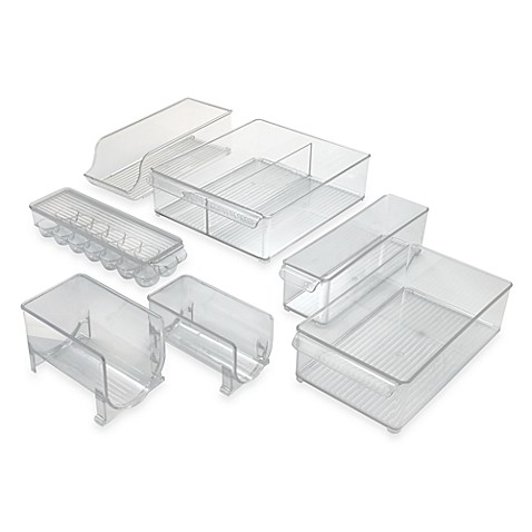 Interdesign 174 Fridge Binz Plastic Refrigerator Bins Bed