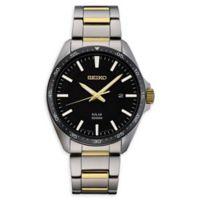 Seiko Essentials Men's 43mm SNE485 Solar Bracelet Watch