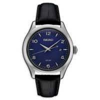 Seiko Essentials Men's 42mm SNE491 Solar Watch