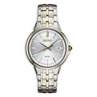 Seiko Essentials Men's 39.4mm SNE508 Solar Bracelet Watch