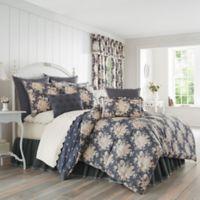 Piper & Wright Braylee Reversible California King Comforter Set in Indigo