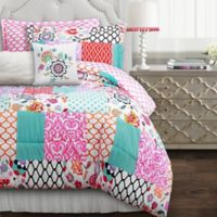 Lush Décor Brookdale 7-Piece Reversible Comforter Set
