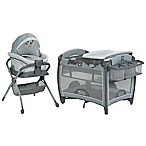 Graco® Day2Dream Playard and Bedside Sleeper in Grey