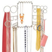 iDesign® Classico Wall-Mounted Jewelry and Accessory Organizer in Satin