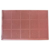 Buffalo 36-Inch x 60-Inch Industrial Non-Slip Rubber Floor Mat in Red