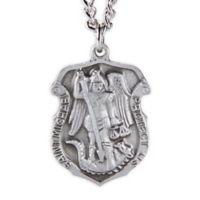 St. Michael 24-Inch Men's Law Enforcement Pendant