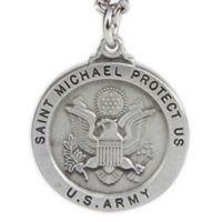 St. Michael 24-Inch Men's Army Pendant