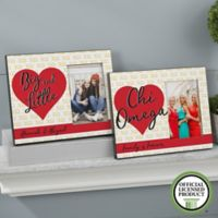 Chi Omega 4-Inch x 6-Inch Picture Frame