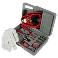 Stalwart® Emergency Roadside 30-Piece Assistance Kit in Grey
