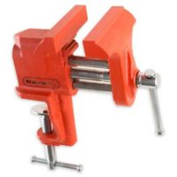 """Stalwart® Clamp-On Vise with 3-Inch """"V"""" Jaw"""