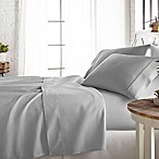 800-Thread-Count Queen Sheet Set in Light Grey